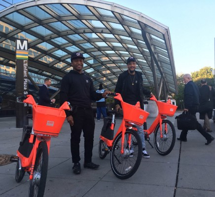 JUMP: Bike sharing electrified - Points of interest