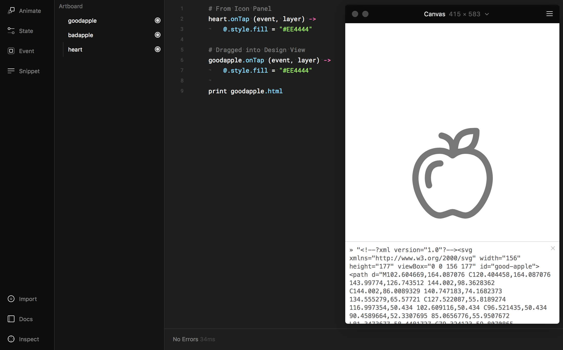 Shaping up your Framer prototypes with SVG - Prototypr