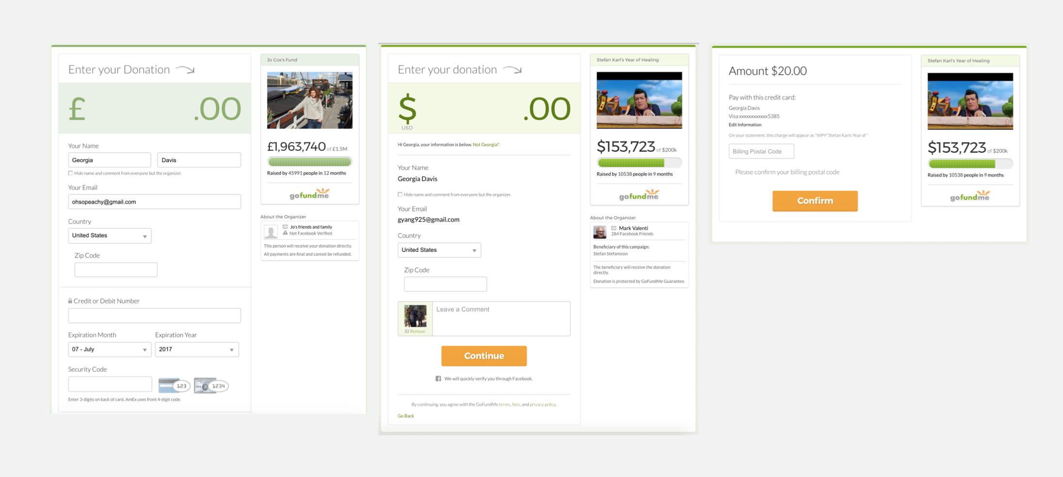 Reimagining the GoFundMe checkout experience — a UX case study