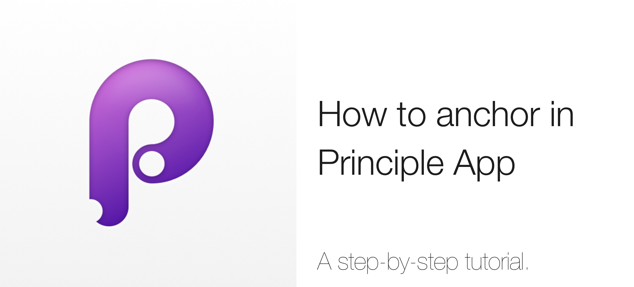 Principle App How To Anchor Anything In Your Animation By Ondrej Sradeja Prototypr