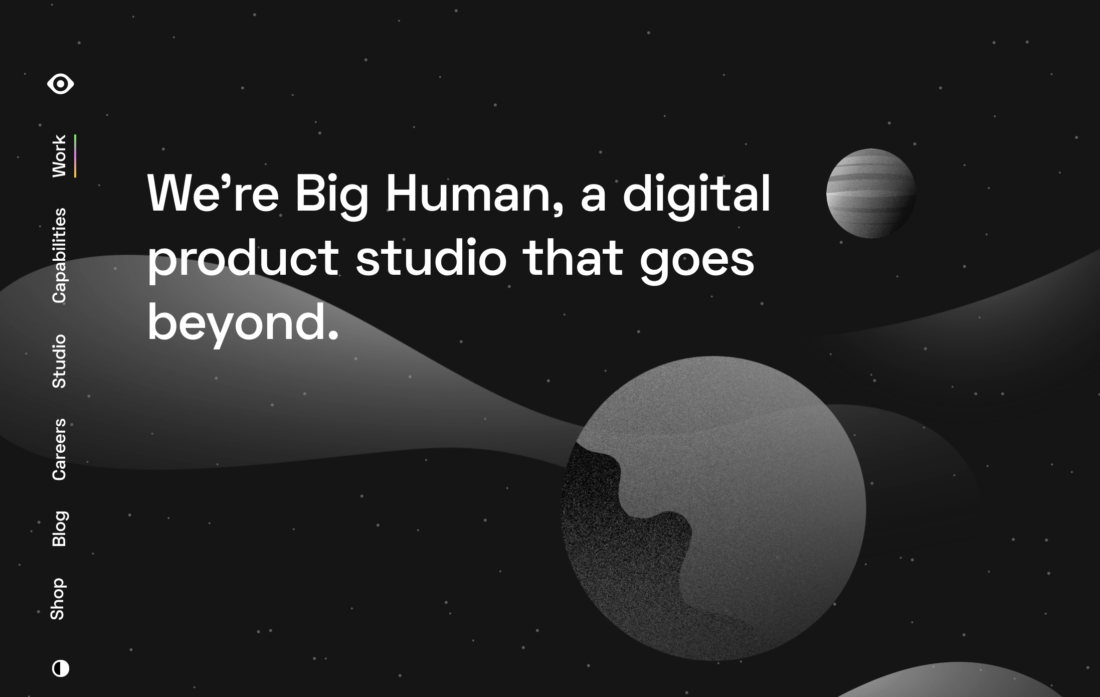 Big Human: a digital product studio and UX design company