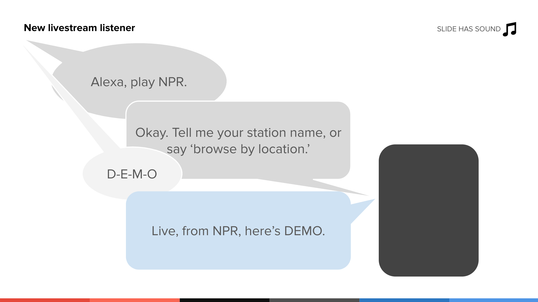 Make a voice assistant prototype, without having to code