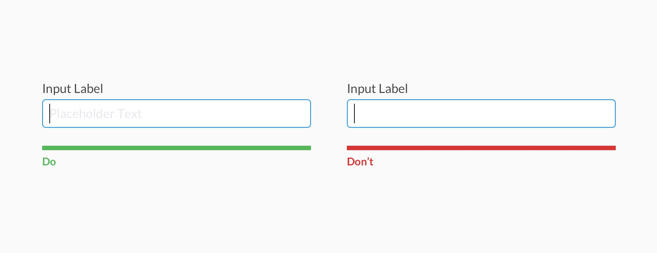 Alternatives to Placeholder Text - UX Collective