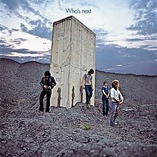 """Album cover for """"Who's Next?"""" by the Who."""