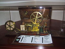 Morse Telegraph, internet of its age, which helped to spread wild rumors and fake news about the 1860 election—Wikipedia