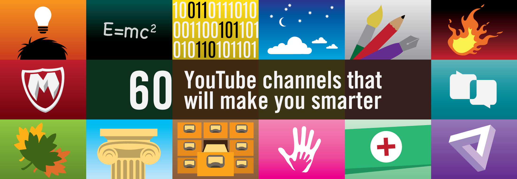 60 YouTube channels that will make you smarter - The Graph