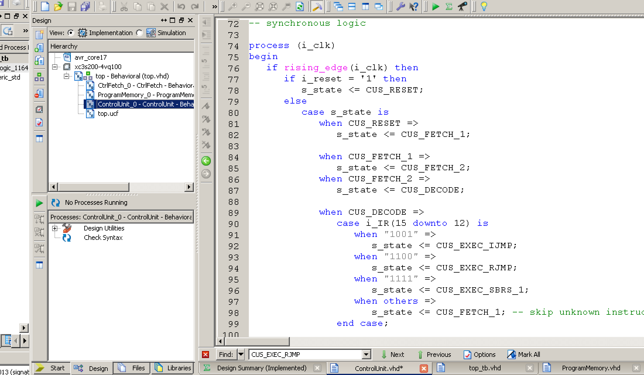 Implementing A Cpu In Vhdl Part 3 Classy Code Blog