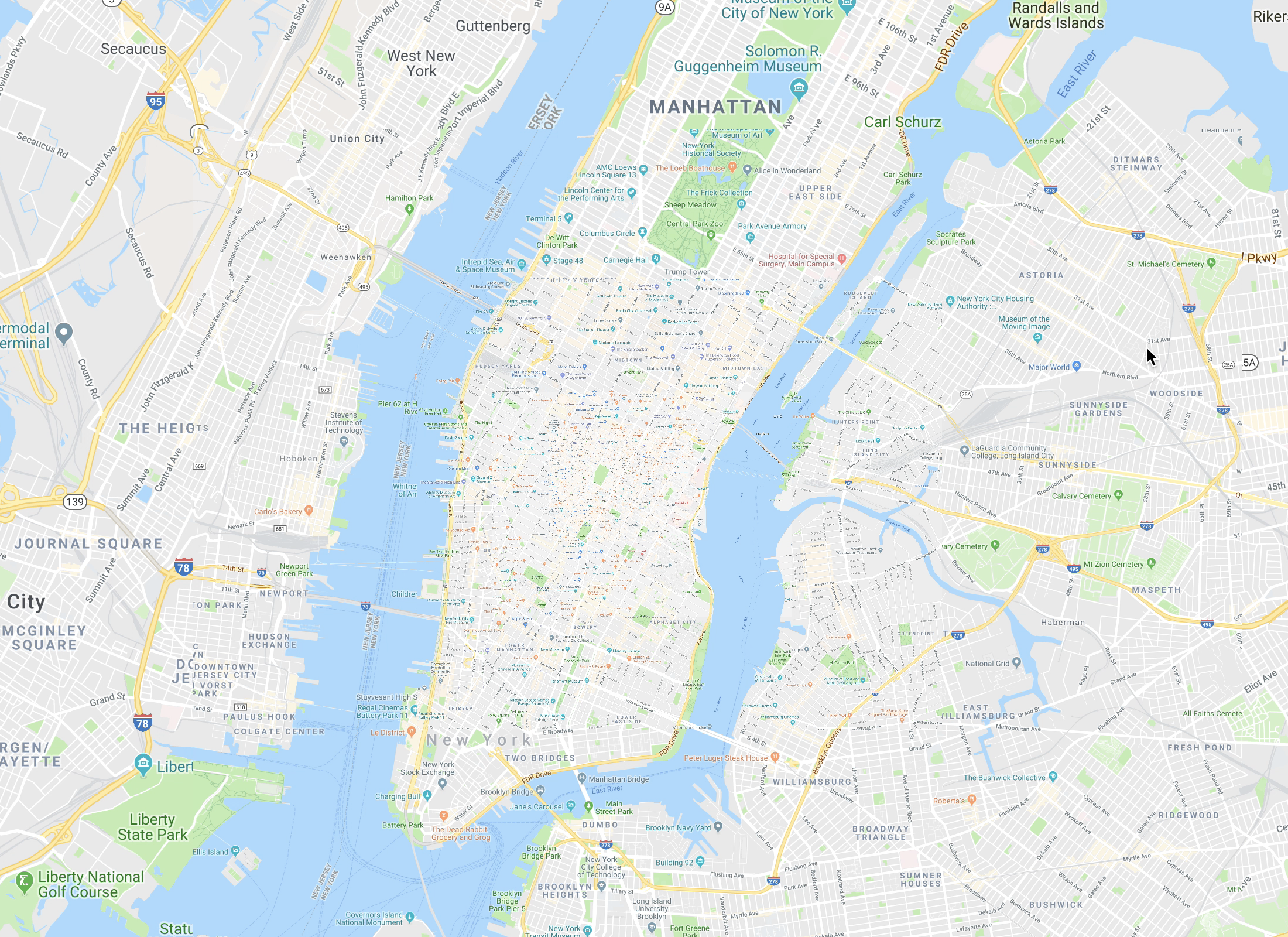 Prototyping a Smoother Map - Google Design - Medium