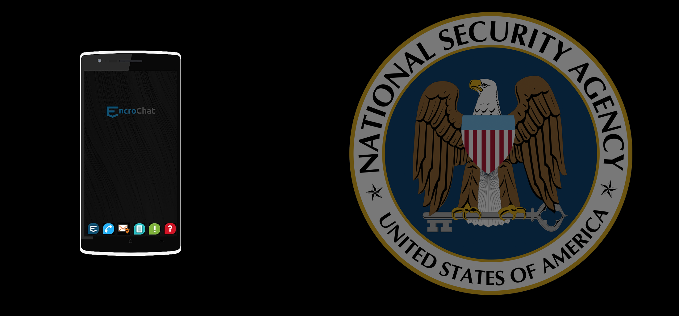 Evidence suggests Encrochat is working with the NSA and other