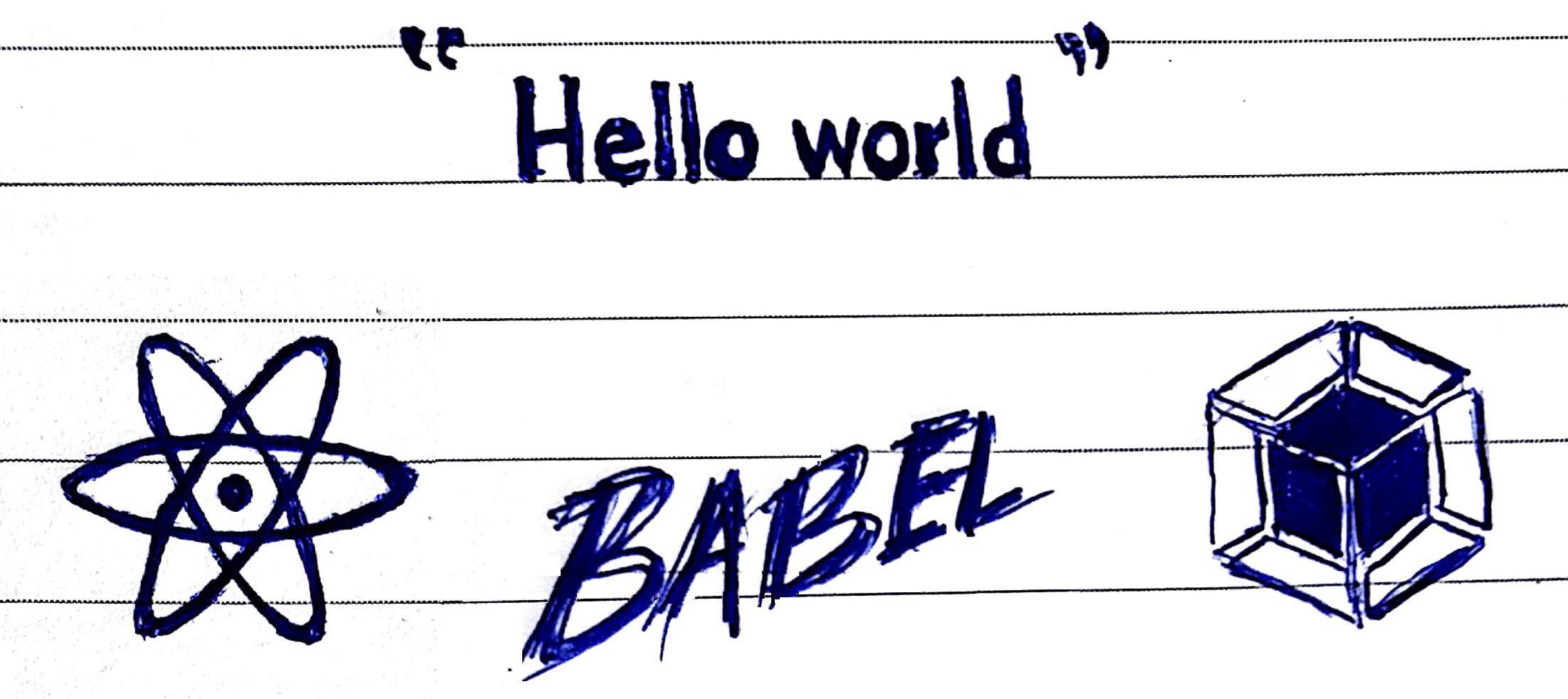 Getting started with REACT js, using Webpack and Babel