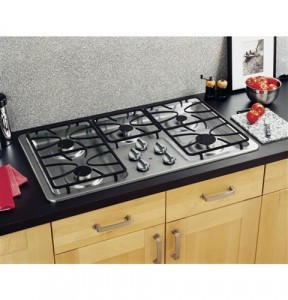 gas stove size