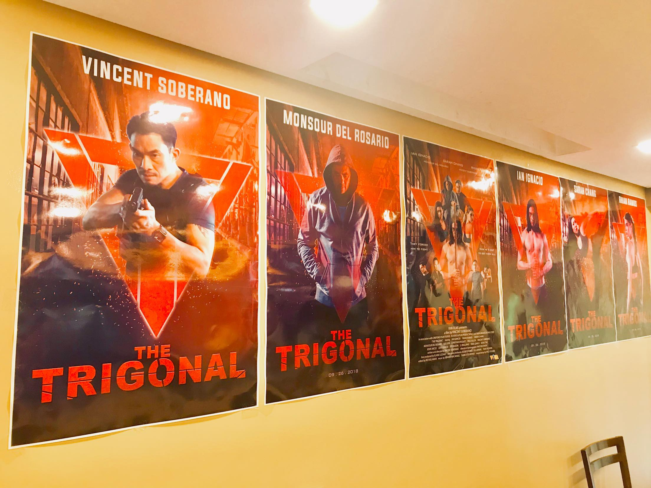 "Trigonal: Fight for Justice"" — Action Film Reborn in a"