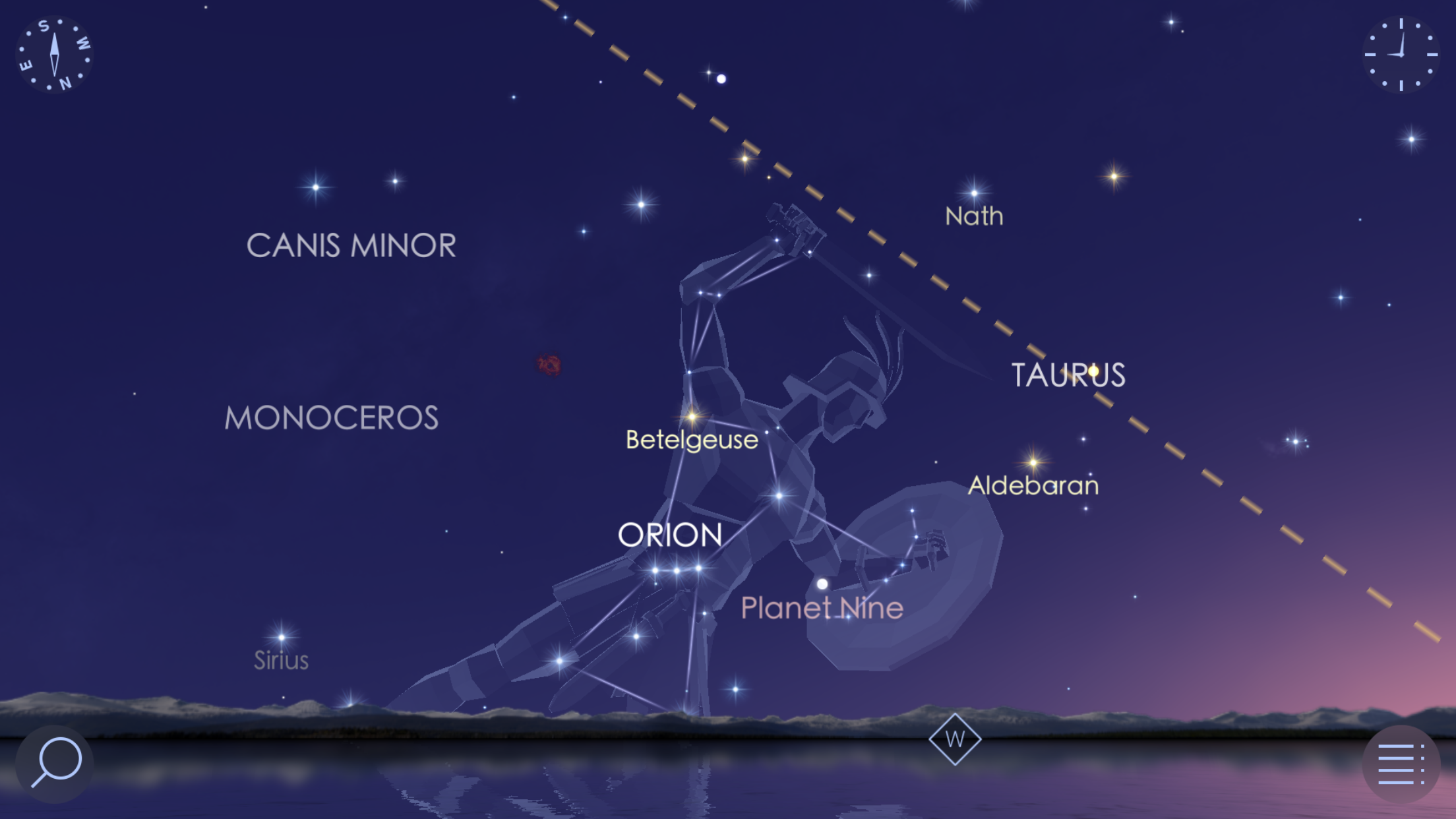 Royal Planets Rule the Evening Sky, the Waning Moon meets