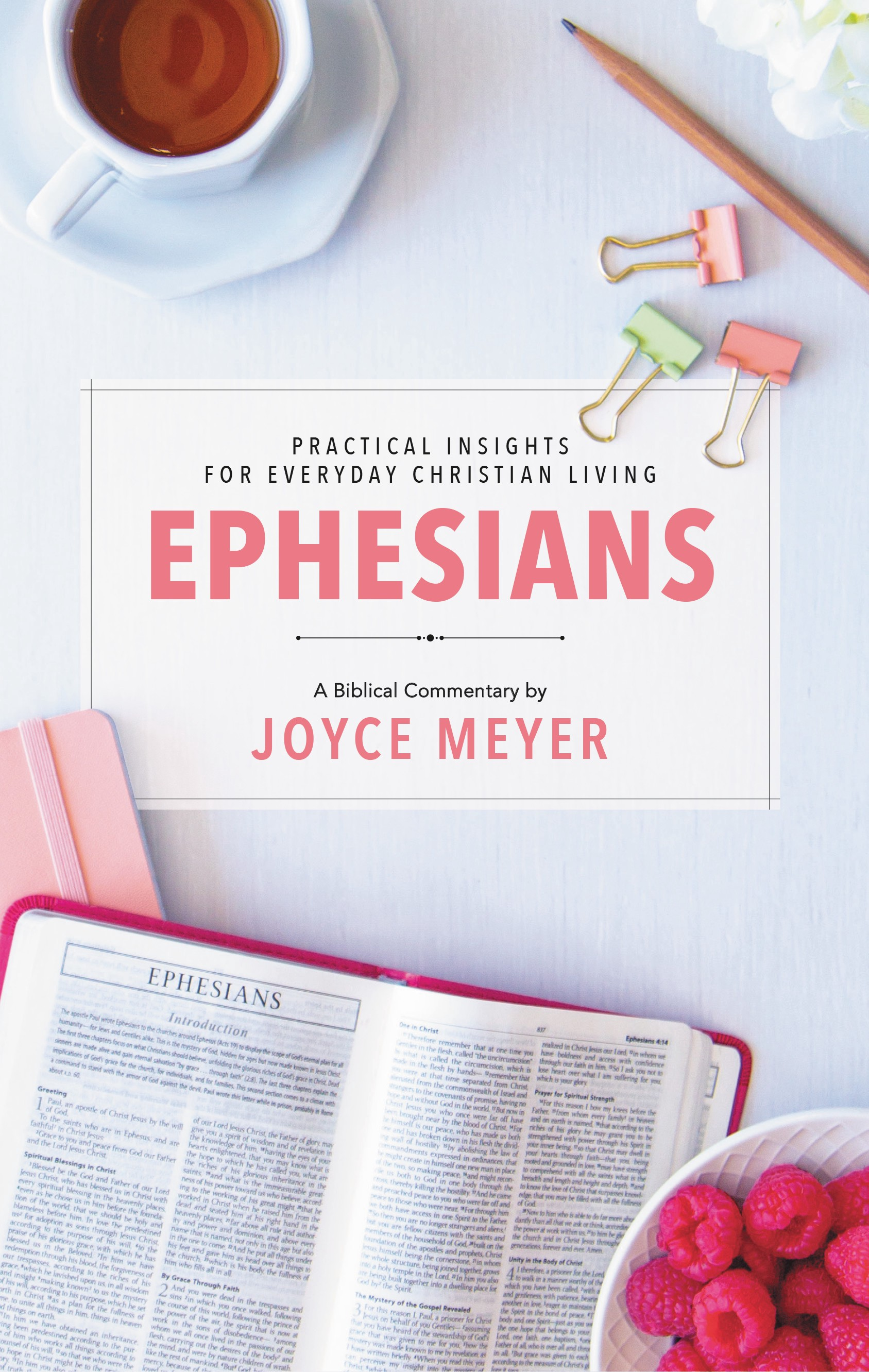 """A Review of Joyce Meyer's """"Ephesians"""" and """"James"""" Bible"""