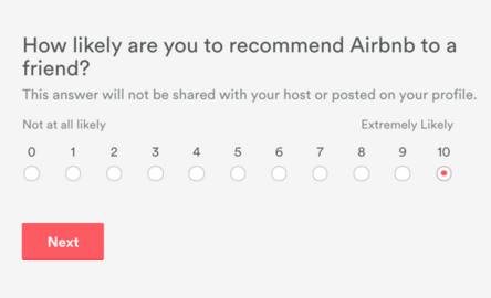 How well does NPS predict rebooking? - Airbnb Engineering & Data