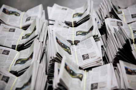 US newspapers face 'extinction-level' crisis as Covid-19 hits hard
