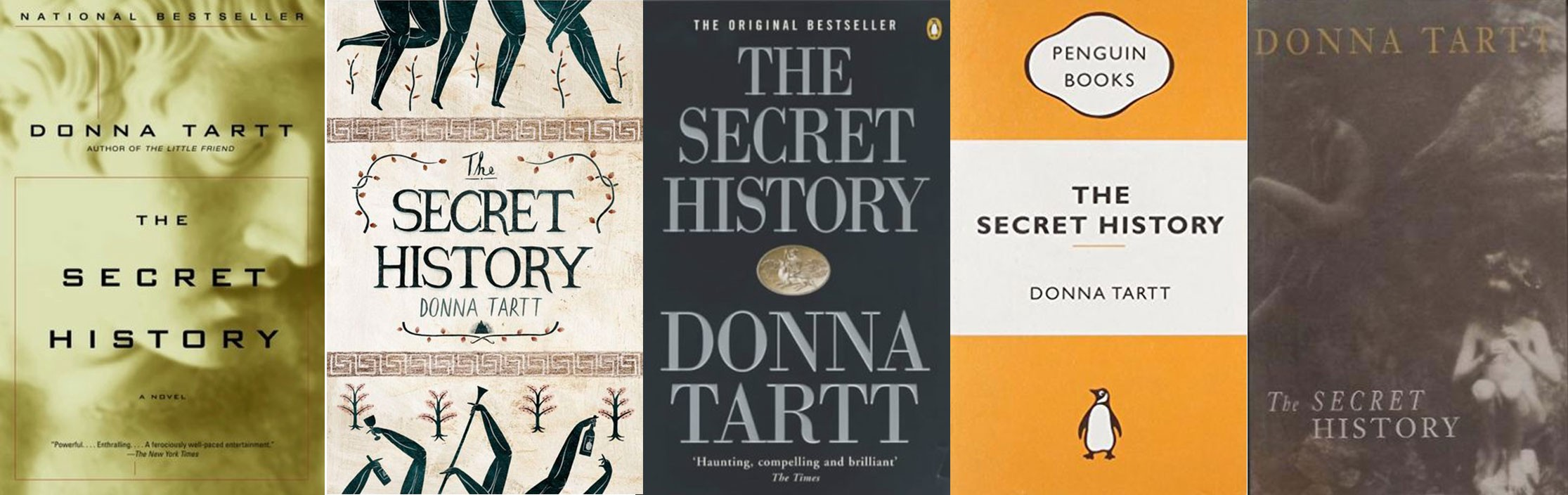 Redesigning The Secret History by Donna Tartt - David Higdon