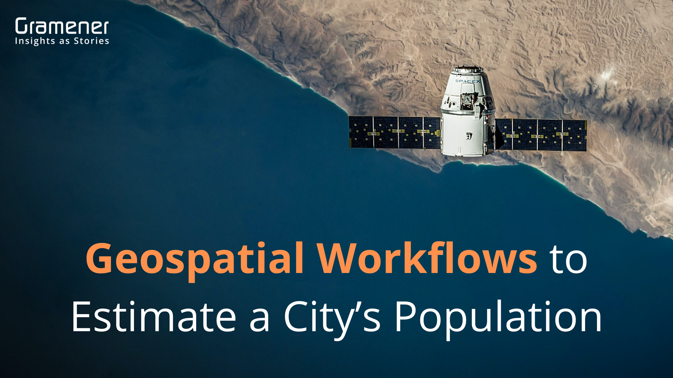 geospatial workflow to estimate a city's population using jupyter notebook