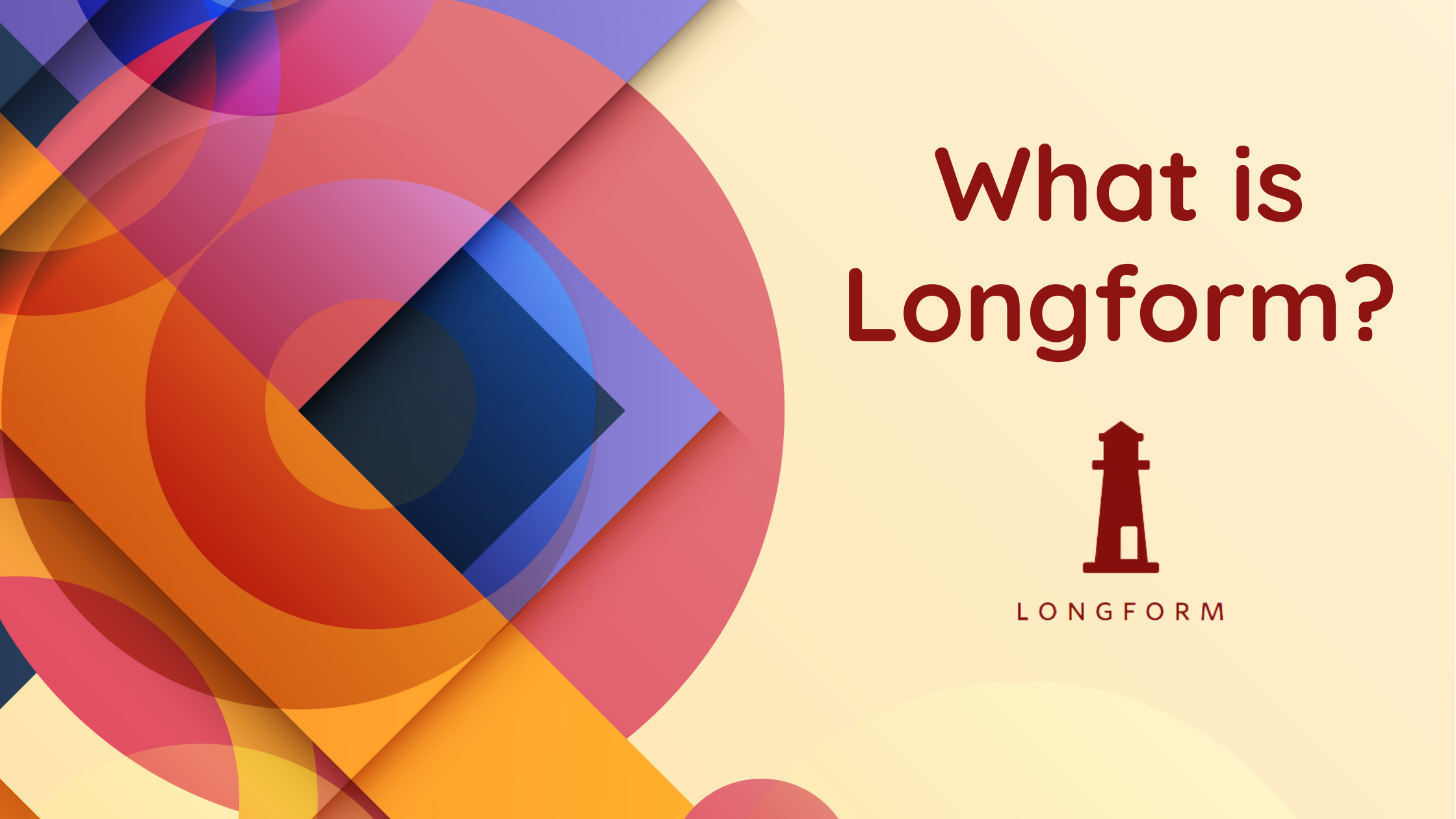 longform, what is longform, longform.org, long form, longform podcast, longform app, longform platform