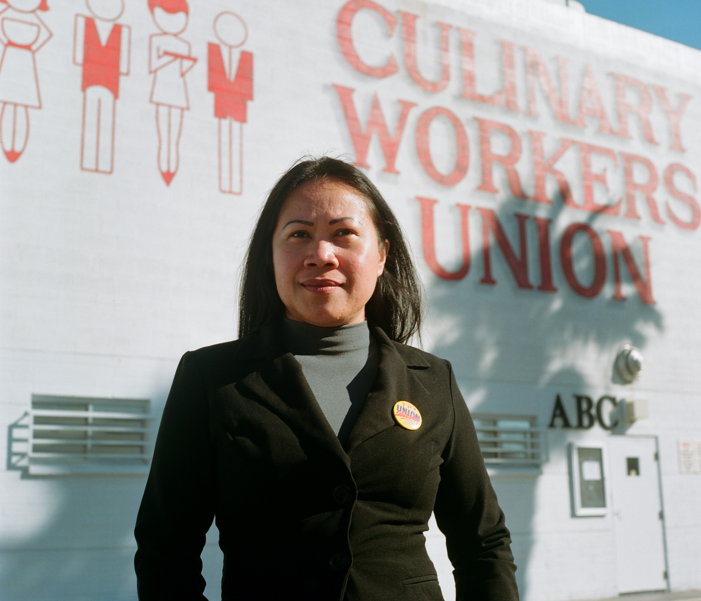 Maria Clara, a casino porter at the Golden Nugget and member of Culinary 226, which declined to endorse a candidate.