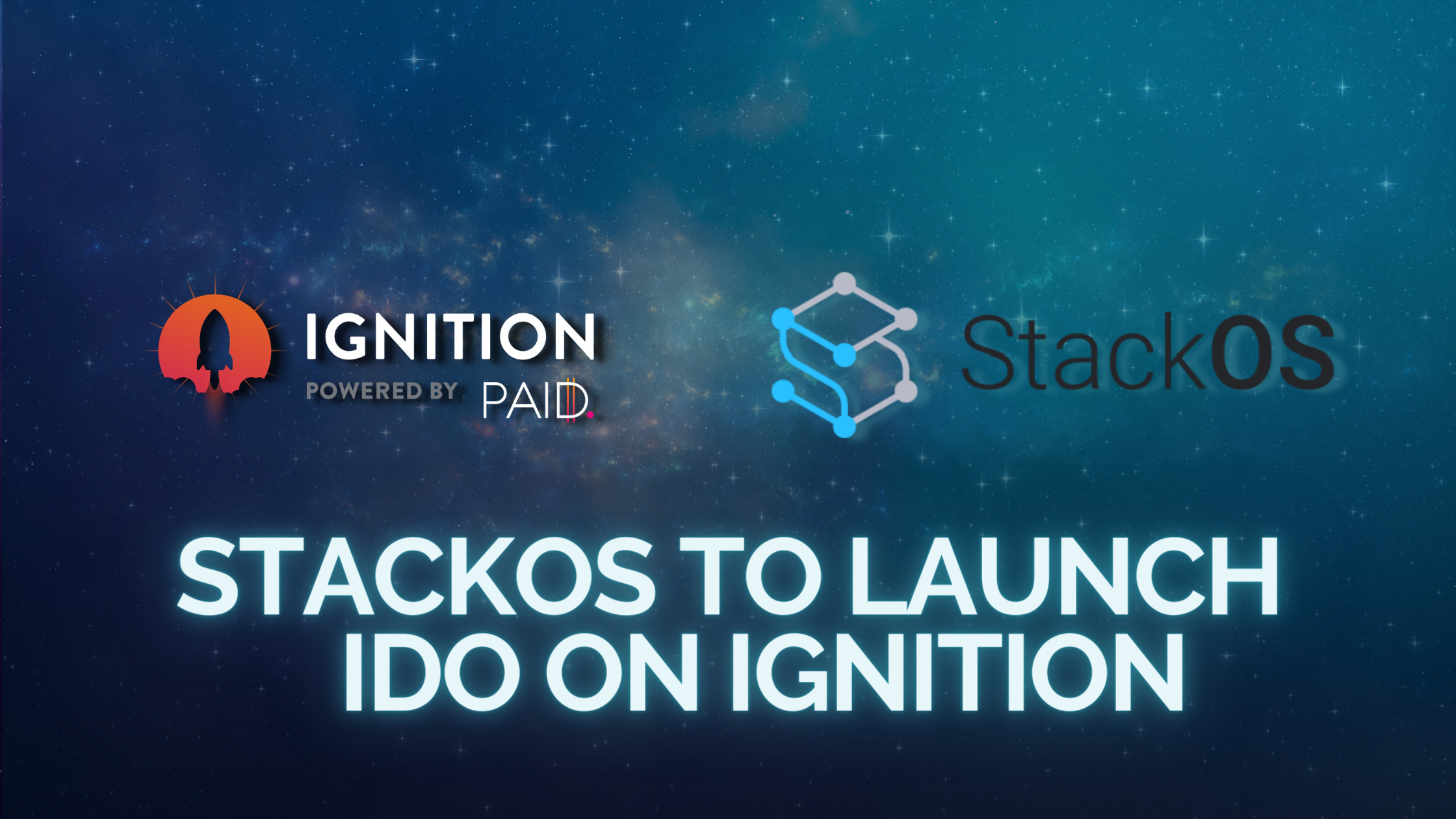 StackOS to launch on IDO Ignition