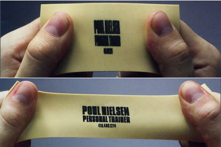 Bad Business Card Design
