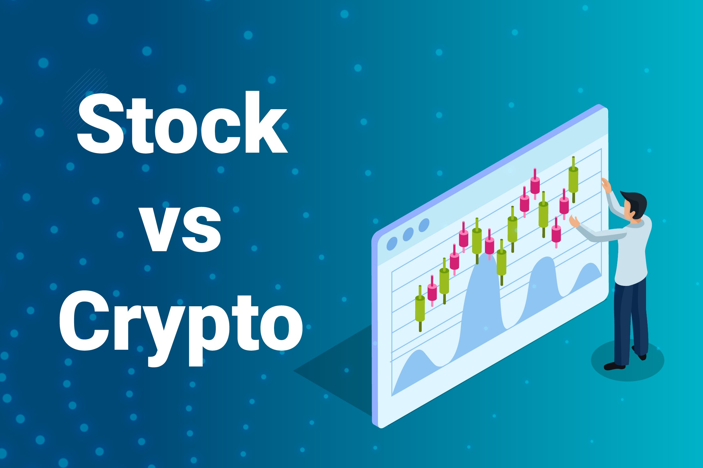 stock trading vs cryptocurrency trading