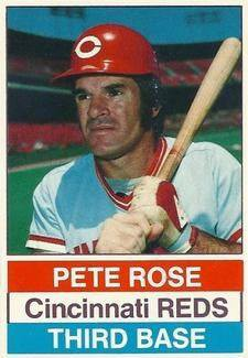 Happy Birthday Baseball Card Pete Rose 1976 Hostess 66