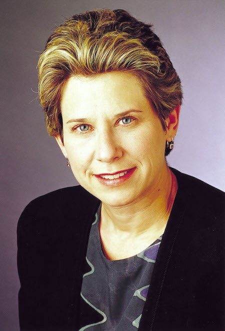 A portrait photo of Donna Dubinsky.