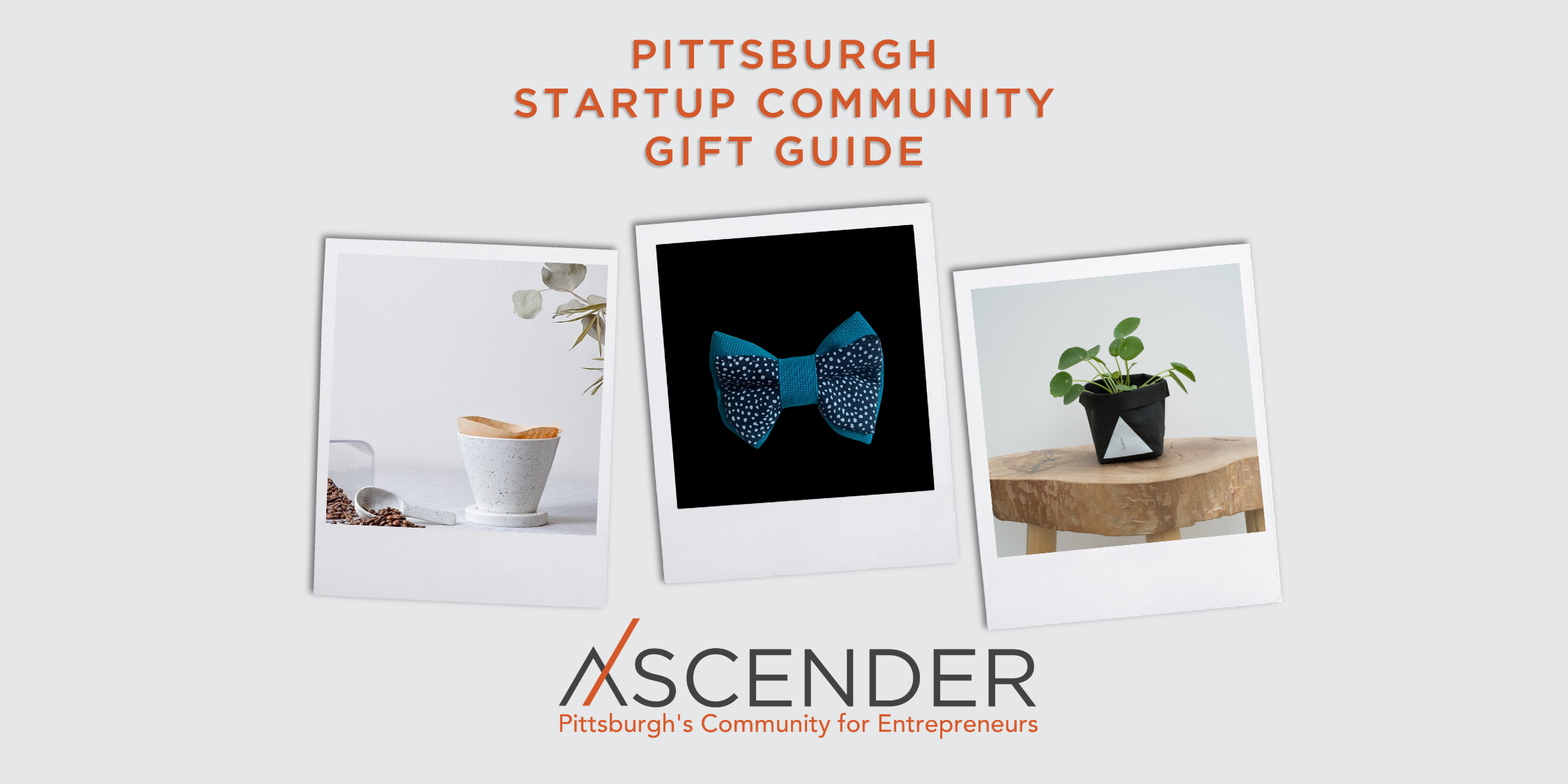 Pittsburgh Startup Community Gift Guide