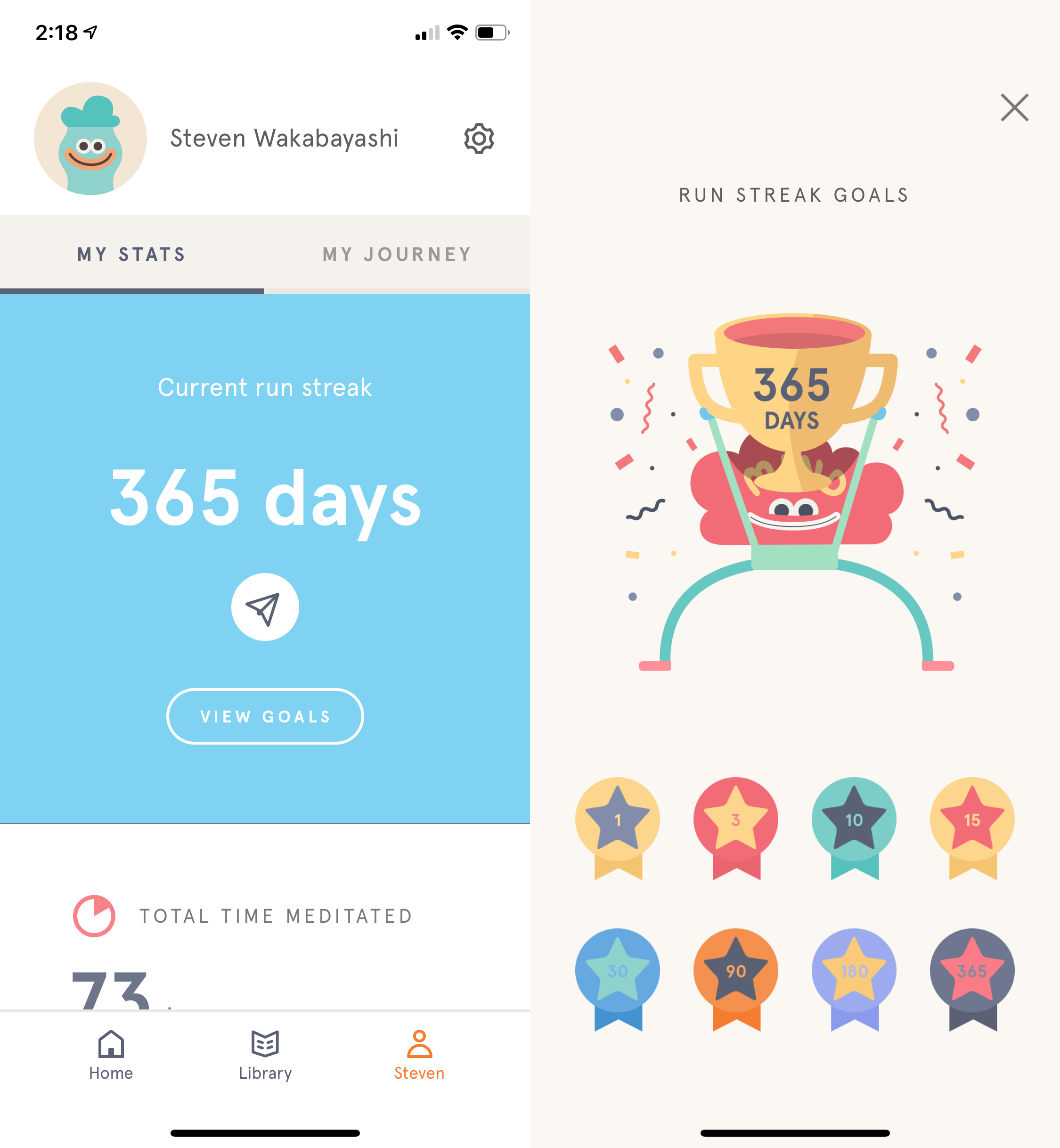 365 consecutive days of headspace by steven wakabayashi medium 365 consecutive days of headspace by
