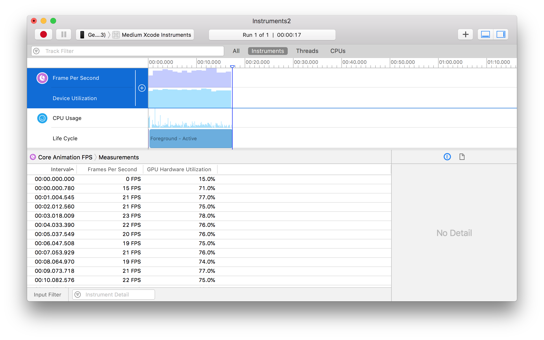 Diagnose and solve performance problems with Xcode Instruments
