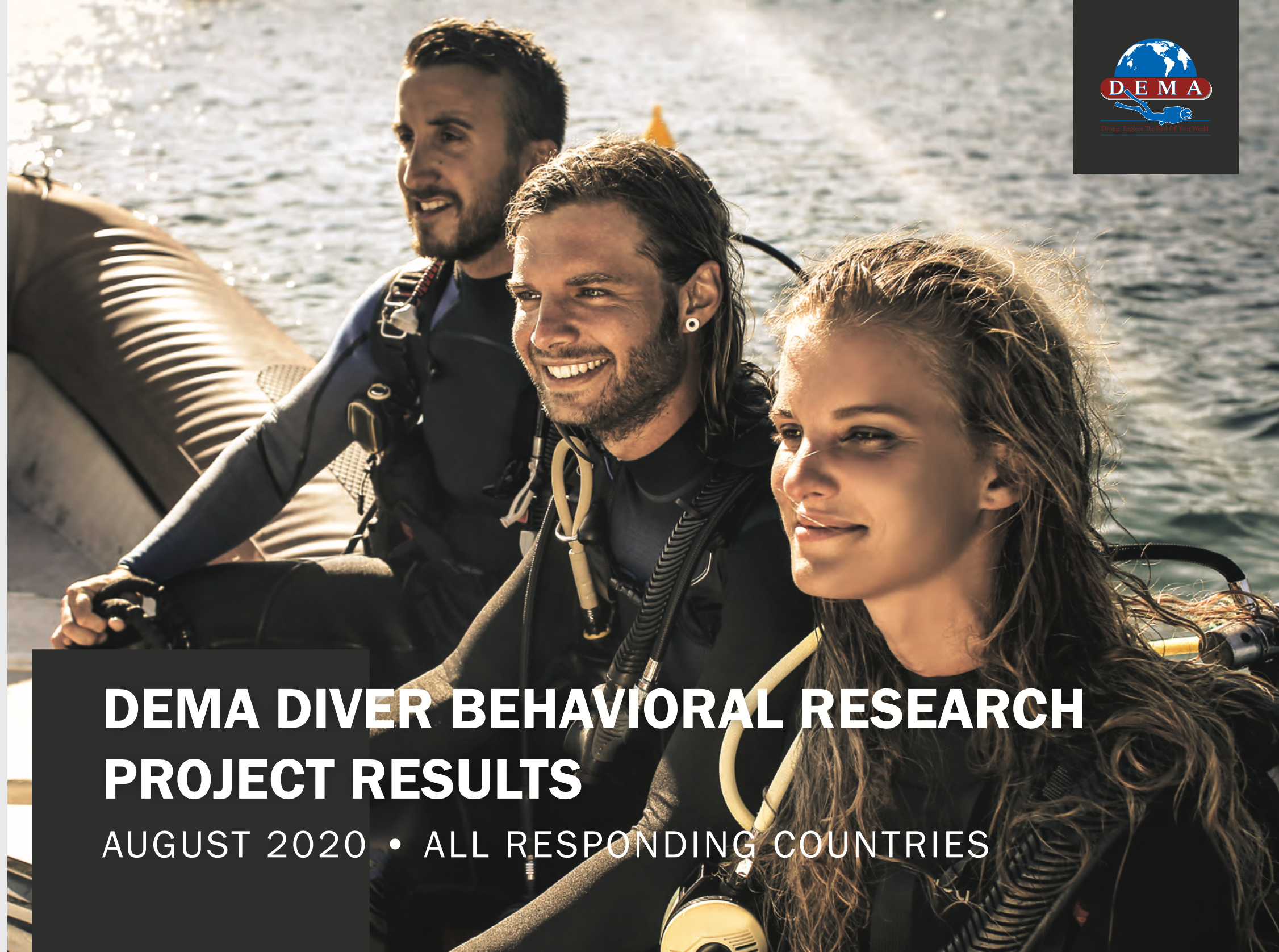 DEMA's Reports on Scuba Diver Demographics and Psychographics