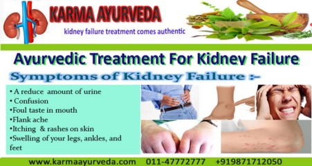 What Are The Major Symptoms Of Kidney Failure By Karma Ayurveda Medium