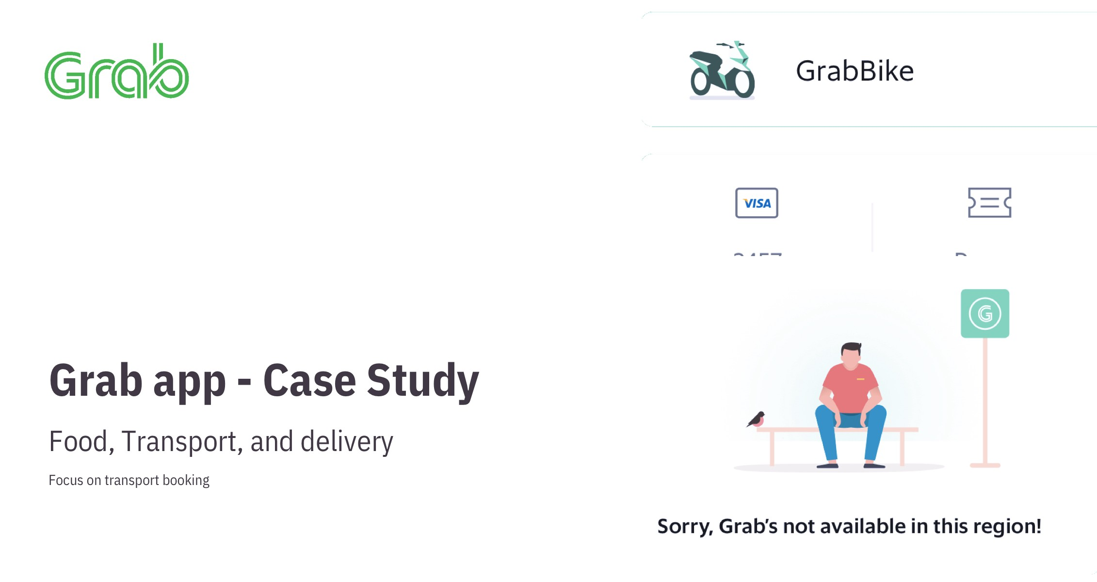 Grab Case Study Brief About The Company By Saransh Ux Planet