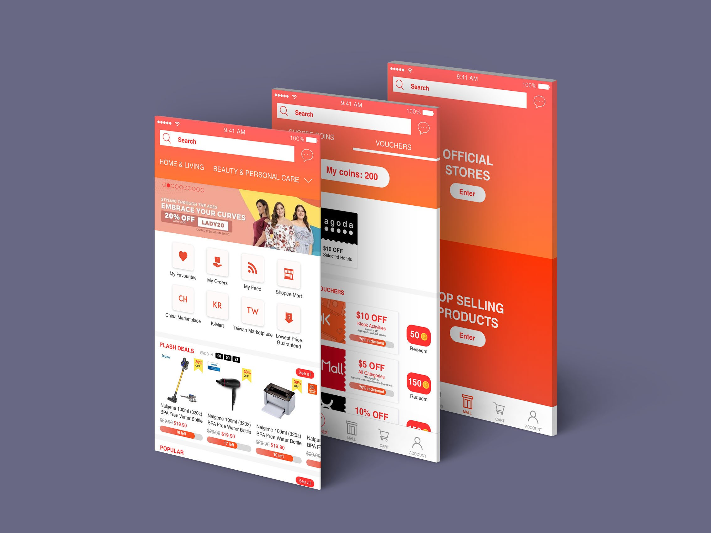 A UX case study on Shopee (and my redesign of it) - Prototypr