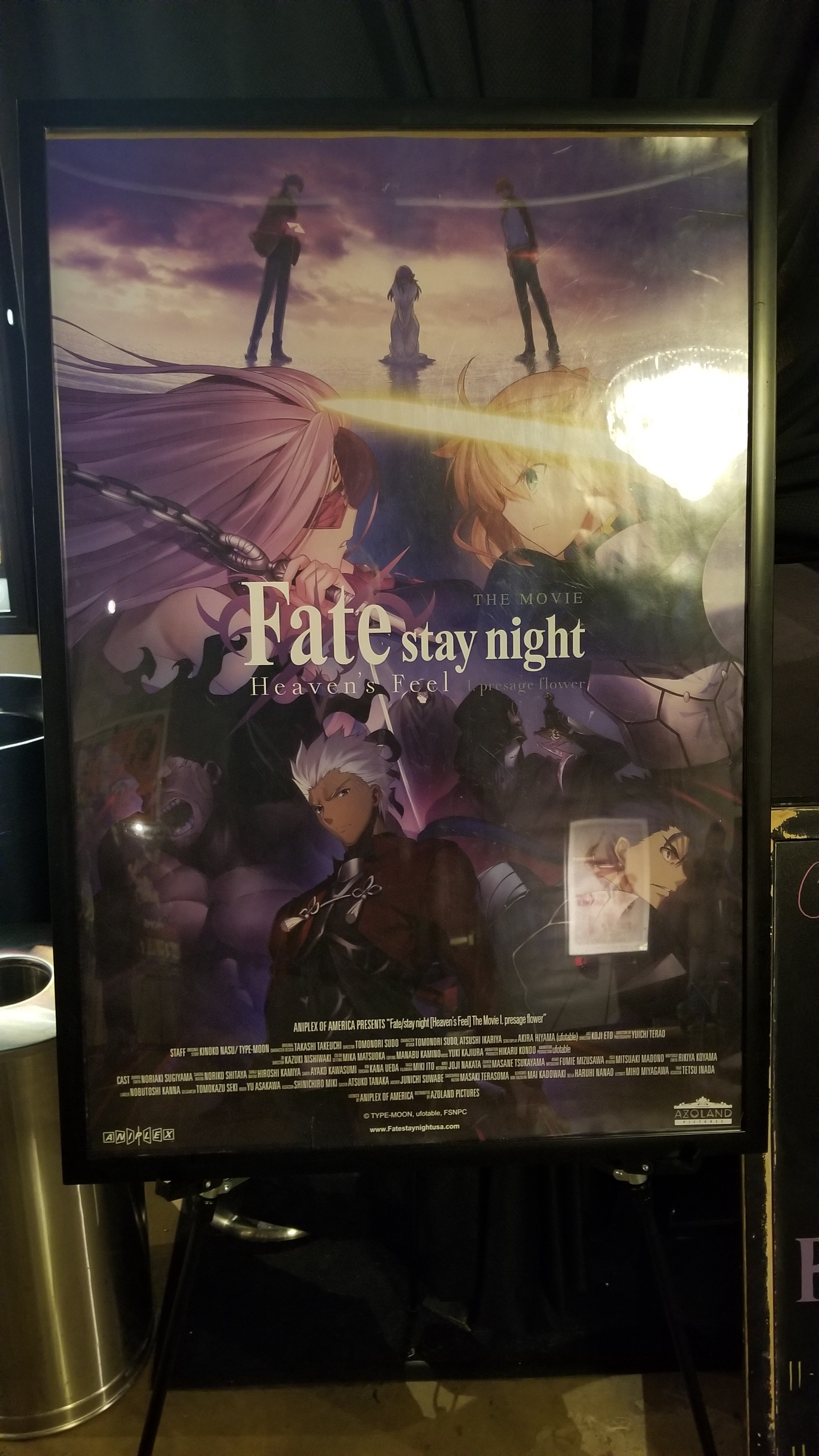 Fate Stay Night Heaven S Feel I Presage Flower Review Ramblings By William Asher Medium