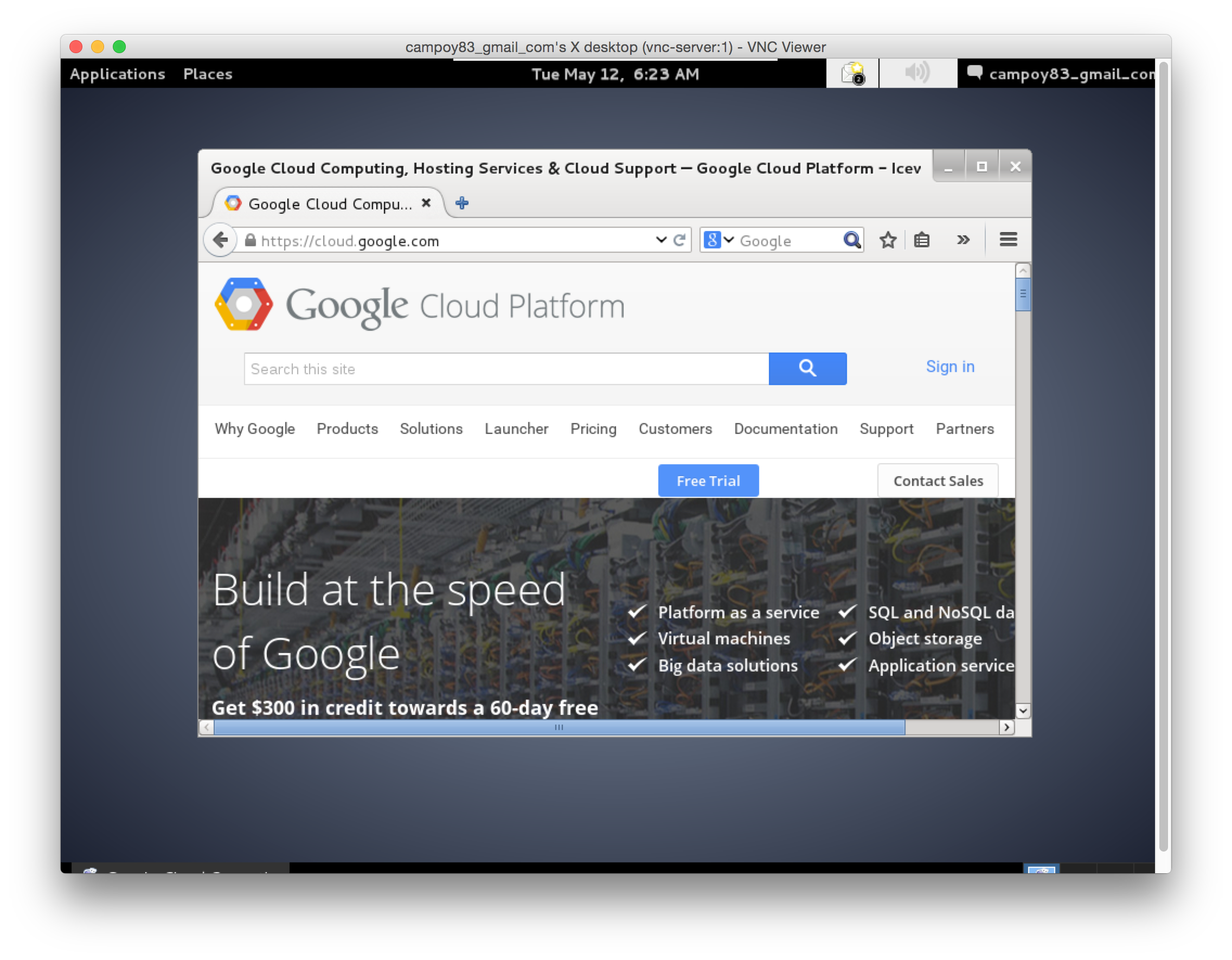 Your desktop on Google Cloud Platform - Google Cloud