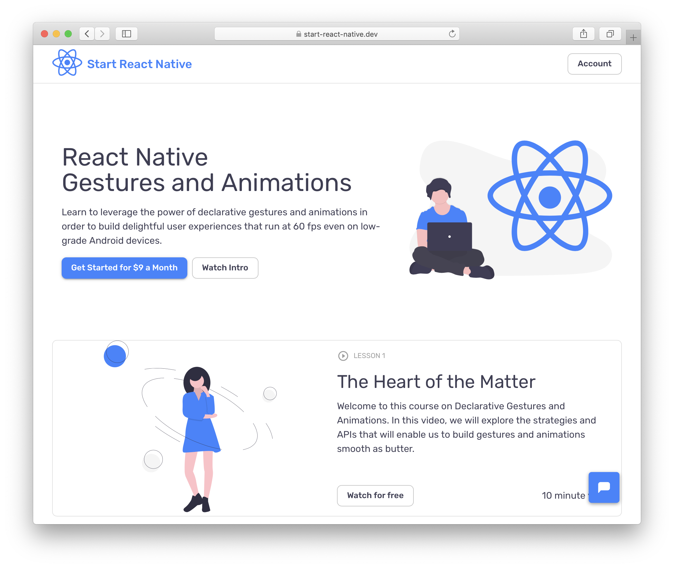 React Native Gestures & Animations: you only have 16ms to