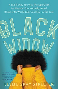 Book cover: Black Widow by Leslie Gray Streeter
