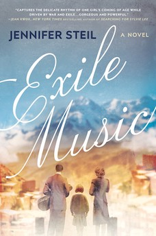 Book cover: Exile Music by Jennifer Steil