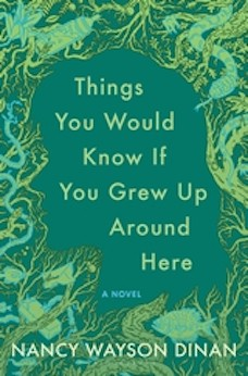 Book cover: Things You Would Know If You Grew Up Around Here by Nancy Wayson Dinan