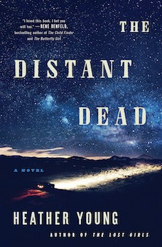 Book cover: The Distant Dead by Heather Young