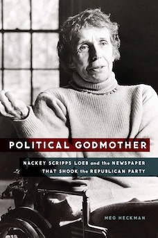 Book cover: Political Godmother by Meg Heckman