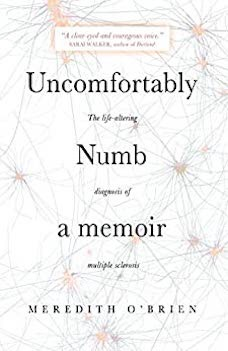 Book cover: Uncomfortably Numb by Meredith O'Brien