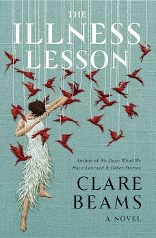 Book cover: The Illness Lesson by Clare Beams