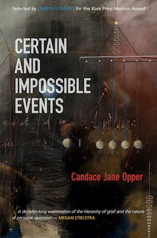 Book cover: Certain and Impossible Events by Candace Jane Opper