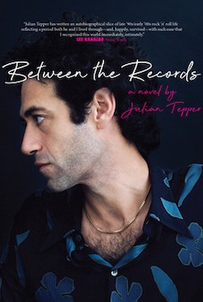 Book cover: Between the Records by Julian Tepper