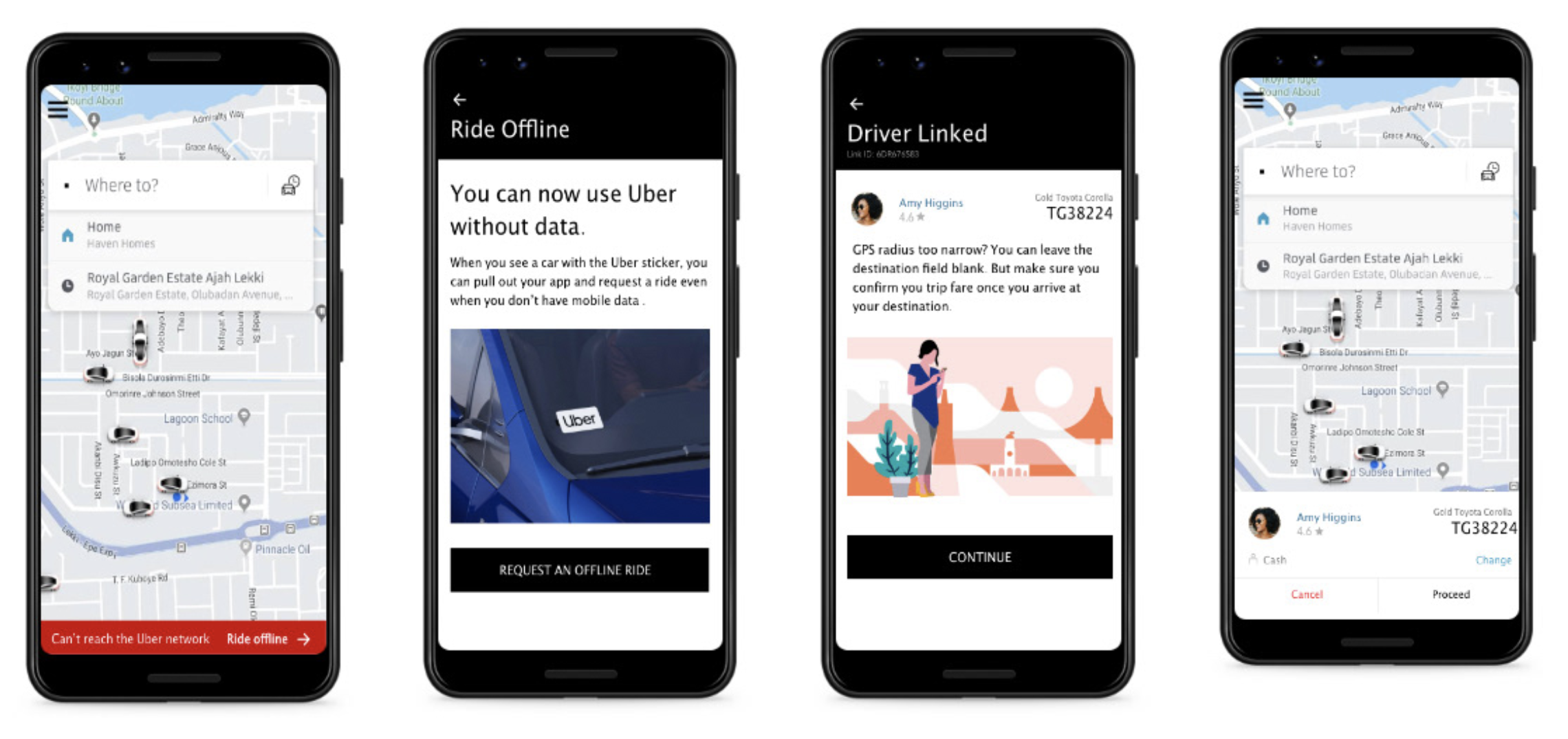 Traditional Ride Hailing for Uber (offline)  - Noteworthy