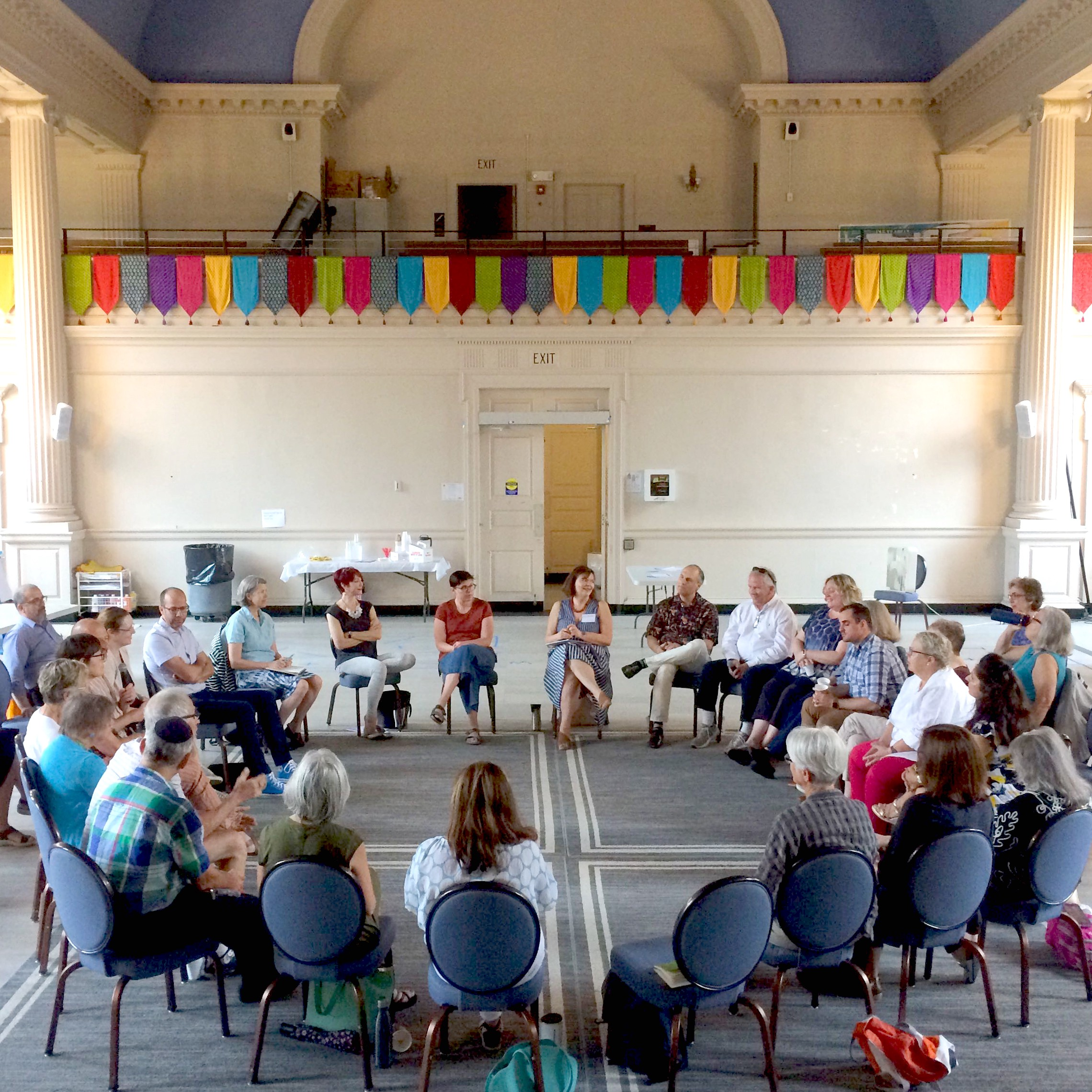 A focus group lead by CivicMoxie for the Create Newton Cultural Master Plan.